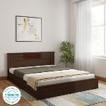 India Desire : Buy Nilkamal Hero Engineered Wood Queen Bed(Finish Color -  Wenge) at Rs. 8158 from Flipkart [Flat 68% Off]
