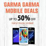India Desire : Homeshop18 Garma Garma Mobile Deals: Get Upto 50% Flat Off On Mobiles