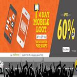India Desire : Homeshop18 4 Day Mobile Loot sale Between 24-27 May 2015 + Extra 60% Off Through Payumoney In Homeshop18 4 Day Mobile Loot Sale