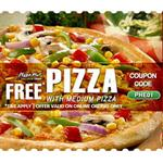 India Desire : Pizza Hut Medium Pizza Buy 1 Get 1 Free