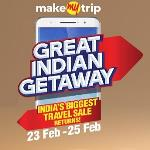 India Desire : Makemytrip Biggest Travel Sale Between 23rd Feb To 25th Feb 2016