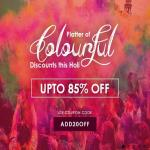 India Desire : Infibeam Holi Offer : Upto 85% Off + Extra 20% Off On Holi Colours , Clothing & Accessories [ADD20OFF]