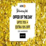 India Desire : Jabong 5th Anniversary Sale : Get Upto 70% Off On Clothing + Extra 10% Off Today