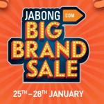 India Desire : Jabong Big Brand Sale : Get 70% To 90% Off On Best Brand Product Between 25th To 28th Jan 2018