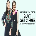 India Desire : Jabong BOGO Offer : Jabong  Buy 1 Get 4 Free On Womens Clothing From Rs 499