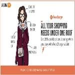India Desire : Jabong Freecharge Offer : Get Flat Rs 75 Cashback On Rs 499 Shopping At Jabong Via Freecharge