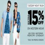 India Desire : Jabong Tuesday Night Rush : Upto 70% Off + Extra 15% Off On Western Clothing
