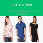 India Desire : Jabong Exclusive Sale: Buy Any 3 Product At Just Rs.999 Only From Jabong [1PM To 5PM]