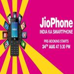 India Desire : Jio Phone Booking: 1500 Rs. Jio Phone Online Booking Started @ Jio.com