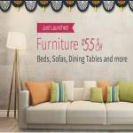 India Desire : Amazon Furniture Offer : Get Upto 65% Off On Spacewood Furnitures Bed + Extra 10% Discount Via HDFC Card
