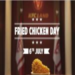 India Desire : KFC Fried Chicken Day : Get One Piece Free Fried Chicken With Every Order At KFC