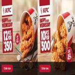 India Desire : KFC Wednesday Offers : Buy 10 Pcs Hot And Crispy Chicken For Rs 500 only