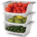 India Desire : Buy JB's Polypropylene Kitchen Stack  Set of 3 At Rs 300 From Papperfry