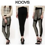 India Desire : Buy The Classic Full Length High Waist Leggings With Sequins At Rs 495 From Koovs
