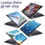 India Desire : Flipkart: Flat 80% Off On meSleep Laptop Skins & Decals Starting From Rs 79 only