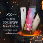 India Desire : Buy Lenovo K6 Power From Flipkart @ Rs 8999 + Extra 10% Off Via SBI Credit Card [Flat Rs 1000 Off]