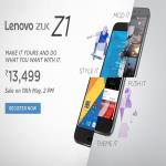 India Desire : Buy Lenovo ZUK Z1 At Rs 10999 From Amazon [Flat Rs 2500 Off]
