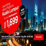 India Desire : Air Asia Cheap International Flights Fly to Kuala Lumpur at Rs.1699 only