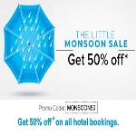 India Desire : Little App 50% Off Offers : [MONSOON50] Get 50% Off On Hotel Booking From Littleapp