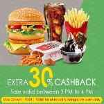 India Desire : Crownit Saturday Shopping Fever : Flat 30% Cashback On McDonalds Voucher [Live]