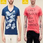 India Desire : Tata Cliq Mens Clothing Offer : Get Upto 90% Off On Mens Tshirts And Polos From Rs 45
