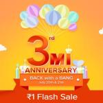 India Desire : Mi Rs. 1 Flash Sale : Trick To Buy Redmi 4a, Redmi 4 & Mi Products @ Re 1 On 20th-21st July 2017 [11 AM & 1 PM]