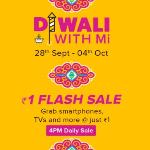 India Desire : Mi Rs. 1 Flash Sale : Buy Mi TV 4A 100 cm (40) Black & More Mi Products From Rs 1 Only [28th Sep To 4th Oct 2019]