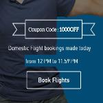 India Desire : MakeMyTrip Weekend Offer : Get Upto Rs 1000 Off On Domestic Flight Booking [12 PM to 11.59 PM]