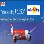 India Desire : Makemytrip Air Asia Sale : Flight Fare Starts From Rs 1099 At Makemytrip