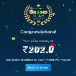 India Desire : Mobikwik Grand Slam Christmas Carnival Offer: Collect The Phrase MERRY XMAS And Win Rs 202 Cashback