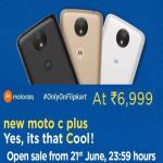 India Desire : Buy Moto C Plus On Flipkart Open Sale @ Rs 5999 Only [Flat Rs 1000 Off]