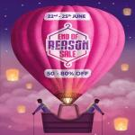 India Desire : Myntra End Of Reason Sale [22nd-25th June 2018] : Get Upto 80% Off + Flat 10% Off Via SBI Bank Cards & PhonePe Cashback Offer