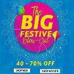 India Desire : Myntra Big Festive Blow Out Sale : Upto 70% Off On Fashion Store + Upto 100% Cashback Via Mobikwik