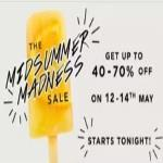 India Desire : Myntra Midsummer Madness Sale : Get Upto 70% Off + Extra Flat 10% Off Via Airtel Money [12th To 14th May 2018]
