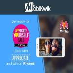 India Desire : Myntra Mobikwik Offer : Flat 15% Cashback At Myntra Through Mobikwik