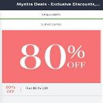India Desire : [Live] Myntra APP Sale : Get Flat 80% + Extra 15% cashback With Payumoney On Shopping From Myntra APP