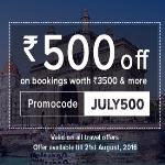 India Desire : Nearbuy Travel Offers :  [JULY500] Get Rs.500 Off On Booking Of Rs.3500 And Above + Extra Mobikwik Cashback