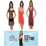 India Desire : Buy NightWear At Upto 50% Flat Off Price At Just Rs.499 Only From Clovia