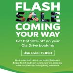 India Desire : Ola Self Drive Flash Sale : Get Flat 90% Off On Ola Self Drive Booking [28th Aug, 12PM To 12AM MidNight]