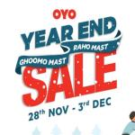 India Desire : Oyo Year End Sale: Get Upto 50% Off + Flat Rs 200 Paytm Per Night [28th Nov-3rd Dec 2019]