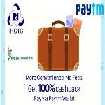 India Desire : Paytm IRCTC Offer: Book Trains E-Tickets Via Paytm & Get Upto Rs. 150 Cashback On Your Next Movie Ticket Bookings