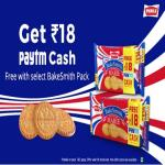 India Desire : Paytm Parle Bakesmith Offer : Get Free Rs 18 Paytm Cash On Parle Bakesmith Marie Rs 28 Pack Purchase