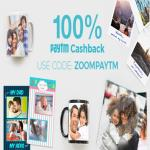 India Desire : Zoomin Paytm Offer : Flat 100% Cashback On Zoomin Order Via Paytm Wallet