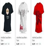 India Desire : Buy Red Tape Mens Regular Fit Solid T-Shirt From Rs 50 At Paytmmall [After Cashback]
