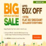 India Desire : Pepperfry Big Republic Day Sale: Get Upto 50% Off + Extra 30% Discount On Almost Everything