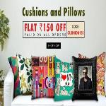 India Desire : Printvenue- Rs 150 Off On Cushions And Pillows