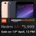 India Desire : Buy Redmi 4A Mobile Amazon Price @ Rs.5999 : Next Flash Sale On 25th June At 3.00 PM