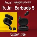 India Desire : Redmi Earbuds S Amazon Price Rs 1799, First Sale Date 27th May @12PM, Features & Buy Online In India