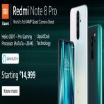 India Desire : Xiaomi Redmi Note 8 Pro Amazon Price Starts Rs 14999: Buy In Open Sale [Flat Rs 1000 Off Via ICICI Credit card]