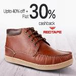 India Desire : Paytm Red Tape Shoes Offer : Get Flat 70% Cashback On Red Tape Shoes